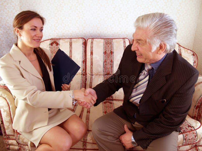 Overeenkomst royalty-vrije stock foto