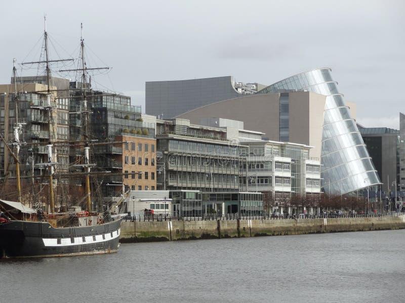 Overeenkomstcentrum Dublin stock fotografie