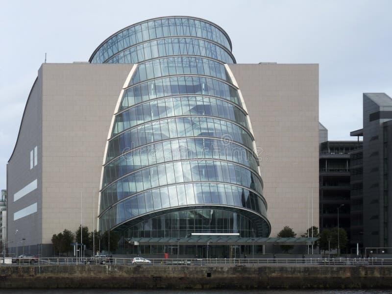 Overeenkomstcentrum Dublin stock afbeeldingen