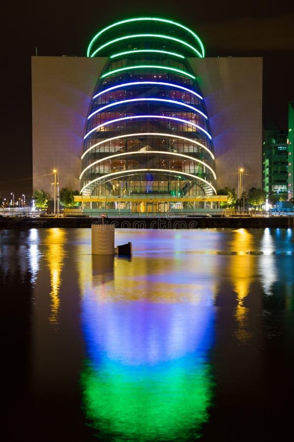 Overeenkomstcentrum dublin ierland stock foto's