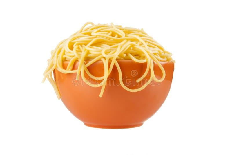 Overflowing Pasta Bowl stock photos