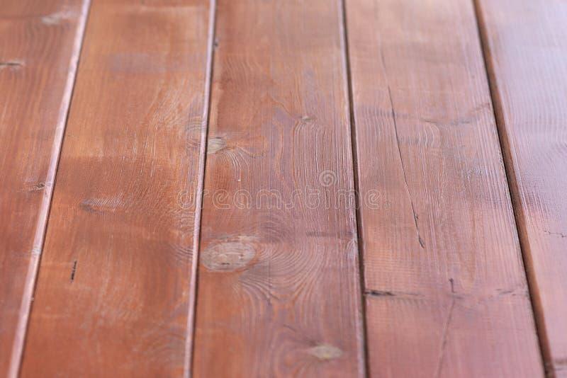 Overgehelde textuur oude houten bruine achtergrond De achtergrond van de boom is natuurlijke kleur, nieuwe raad, lege achtergrond stock fotografie