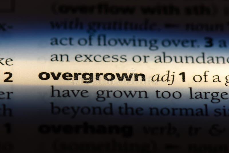 overgrown fotografía de archivo libre de regalías
