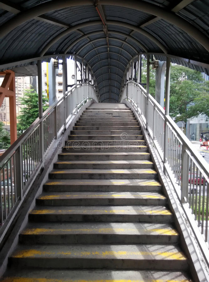 Overhead bridge stock images