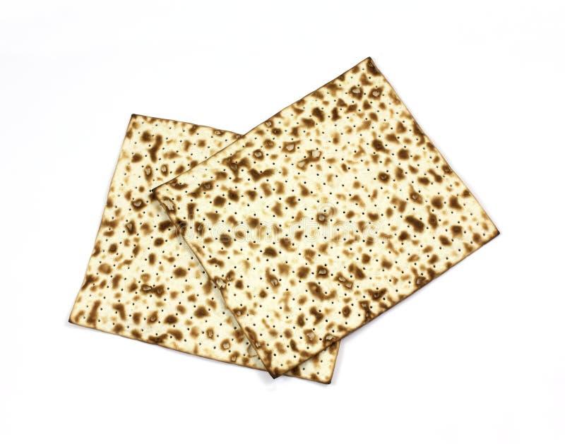 Overhead View Matzo Crackers