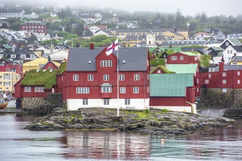 Overheid van de Faeröer royalty-vrije stock foto