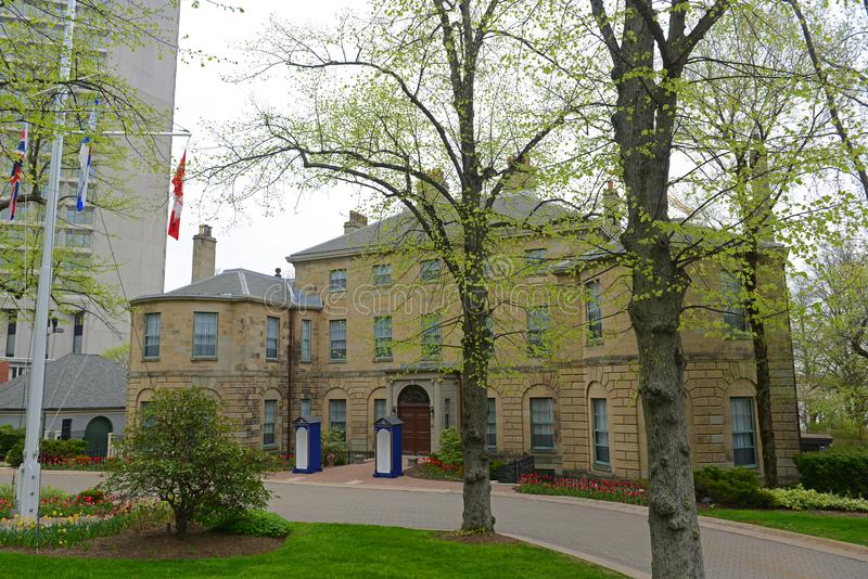 Overheidshuis, Halifax, Nova Scotia, Canada royalty-vrije stock foto