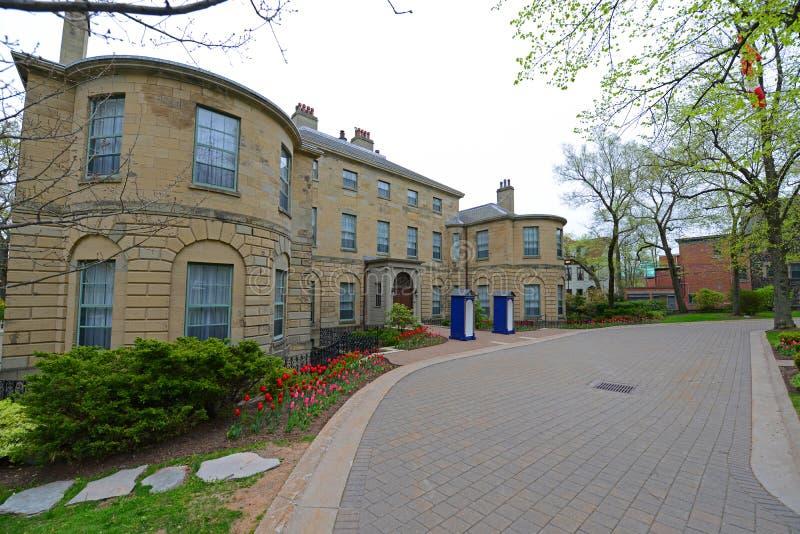 Overheidshuis, Halifax, Nova Scotia, Canada royalty-vrije stock afbeelding