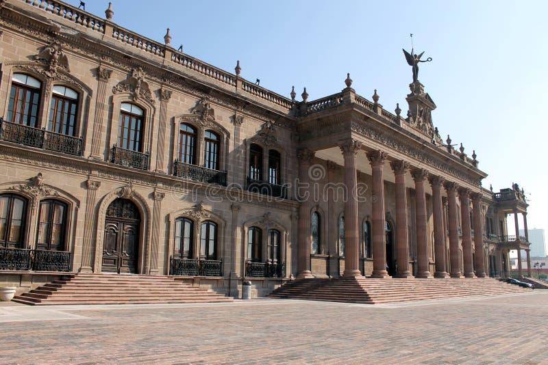 Overheidspaleis van Nuevo Leon royalty-vrije stock afbeeldingen