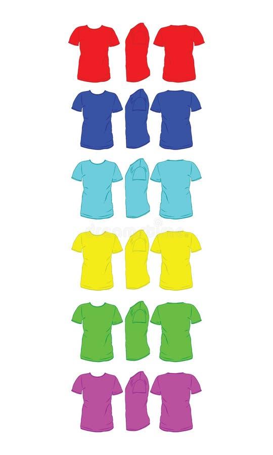 overhemd stock illustratie