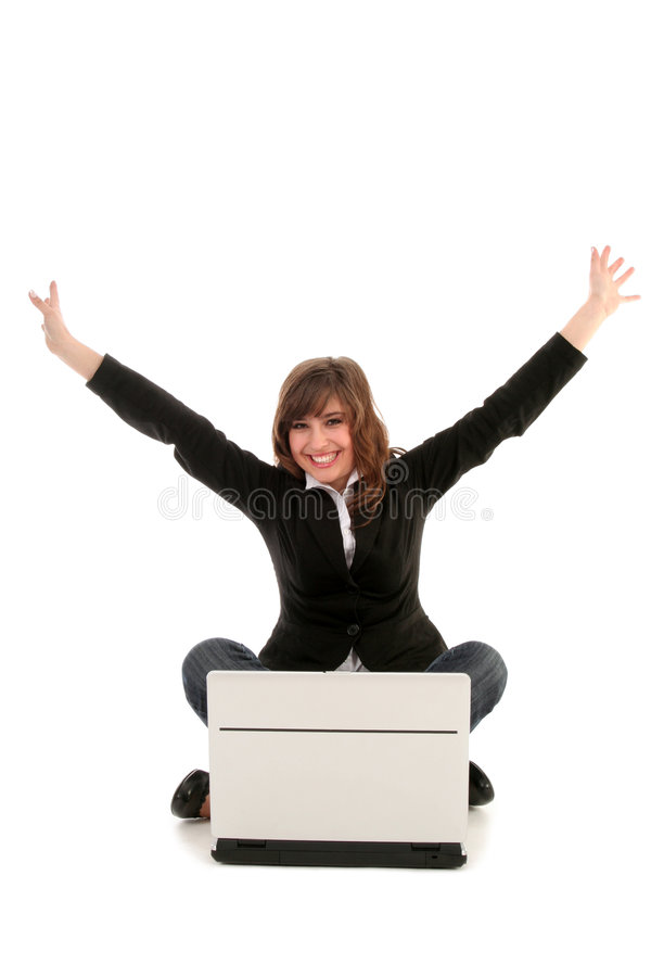 Download Overjoyed Businesswoman Stock Images - Image: 4544624