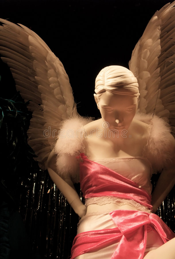 overklig ängel fotografering för bildbyråer