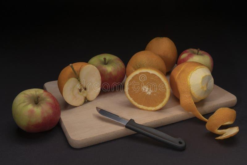 Overklig stilleben av frukt arkivbilder