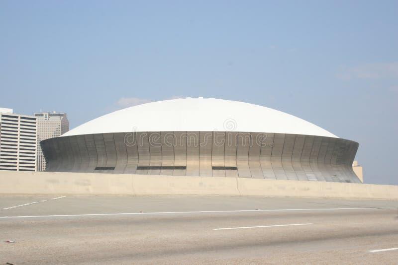 Overkoepelde Arena stock foto