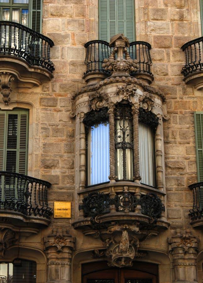 Overladen balkons royalty-vrije stock afbeeldingen