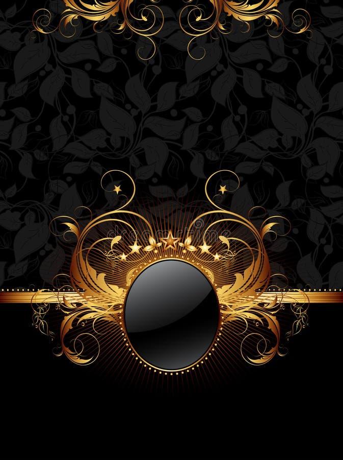 Overladen frame stock illustratie