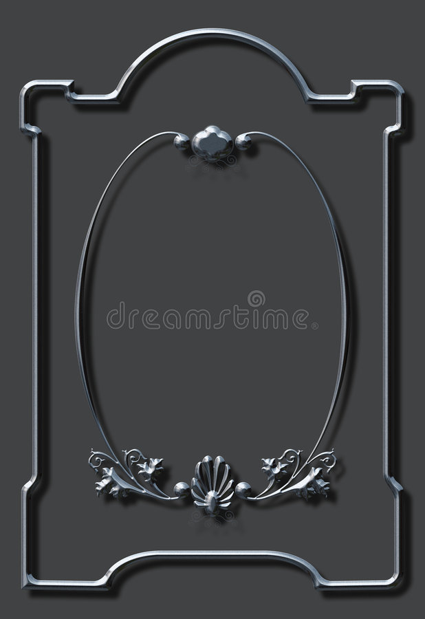 Overladen frame vector illustratie