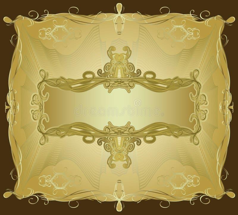 Overladen Frame II royalty-vrije illustratie