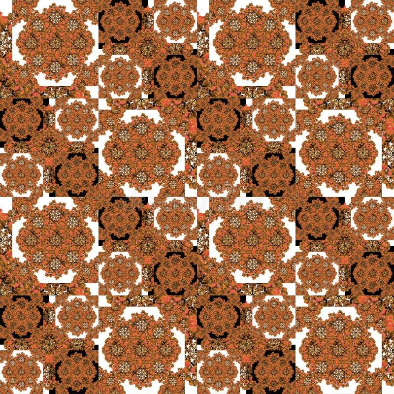 Overladen geometrisch patroon vector illustratie