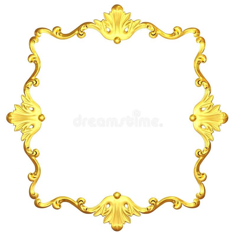 Download Overladen goud stock illustratie. Illustratie bestaande uit koper - 29513526