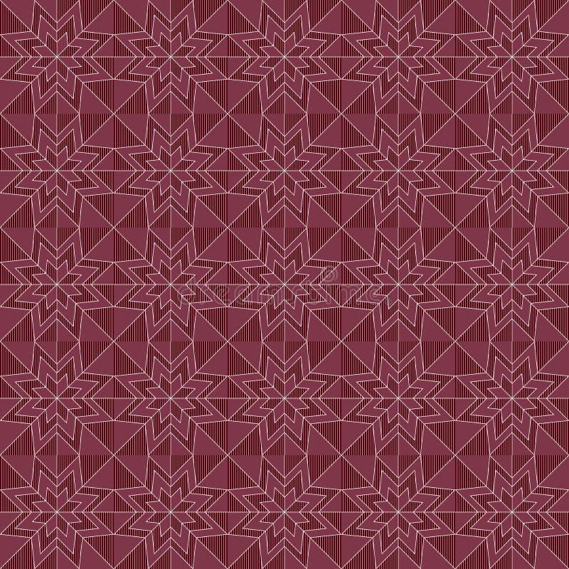 Overladen naadloos patroon royalty-vrije illustratie