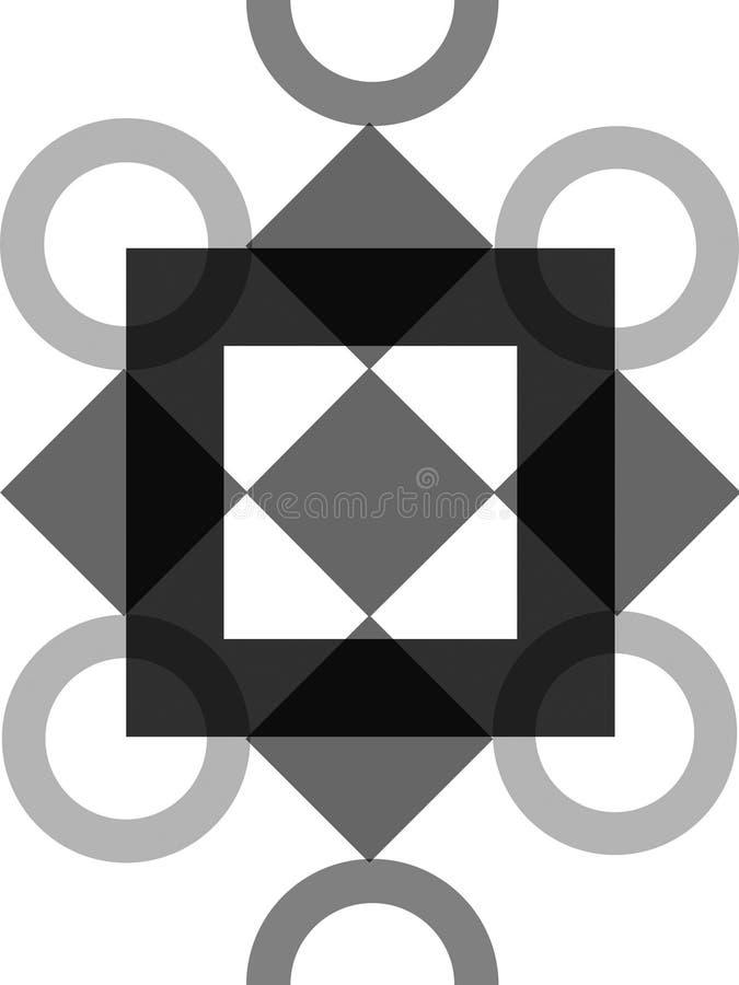 Download Overladen ontwerp stock illustratie. Illustratie bestaande uit driehoek - 295218