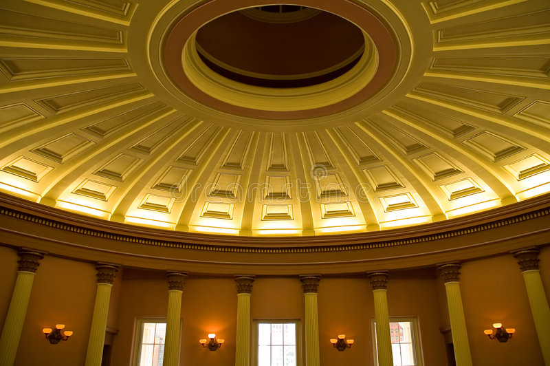 Overladen plafond royalty-vrije stock afbeeldingen