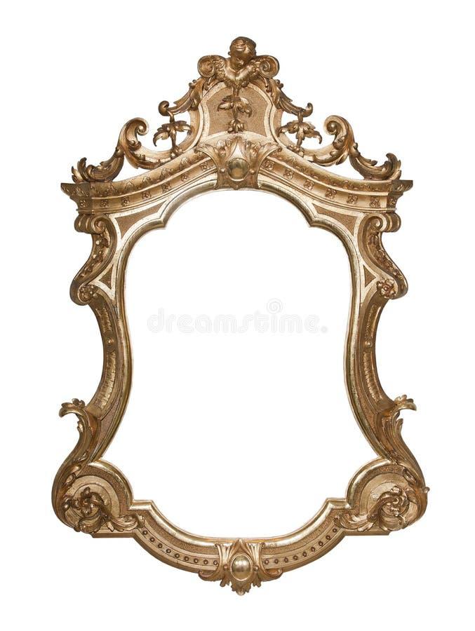 Overladen uitstekend frame royalty-vrije stock afbeelding