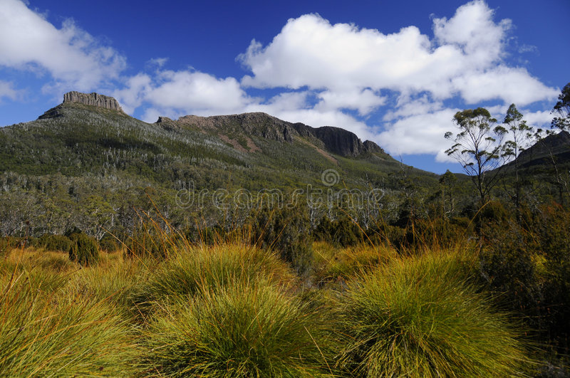Download Overland Track, Tasmania stock photo. Image of clouds - 8030184
