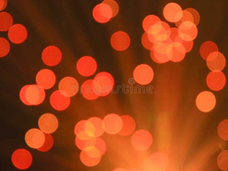 Overlappende lichte vlekken stock fotografie