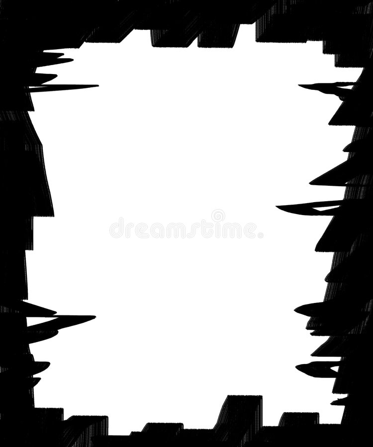 Download Overlay Frame 3 stock illustration. Illustration of abstract - 7331429