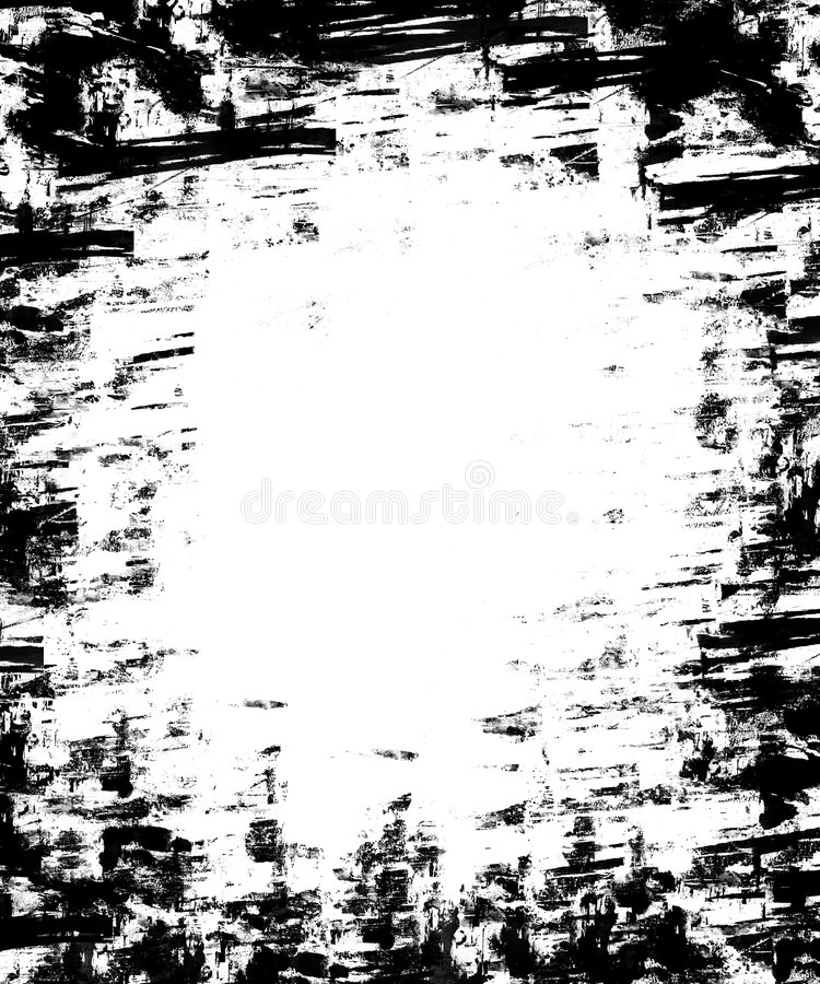 Download Overlay Frame Grunge 2 stock illustration. Image of blank - 7331339