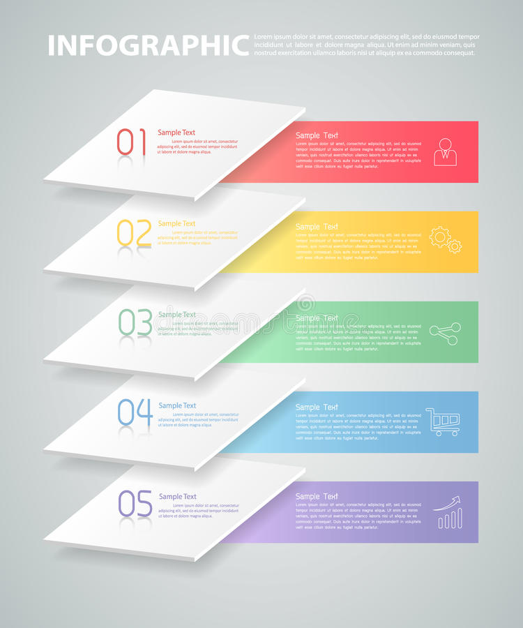 Overlay infographic template. can be used for workflow, layout, diagram. Overlay infographic template. can be used for workflow layout, diagram, number options vector illustration