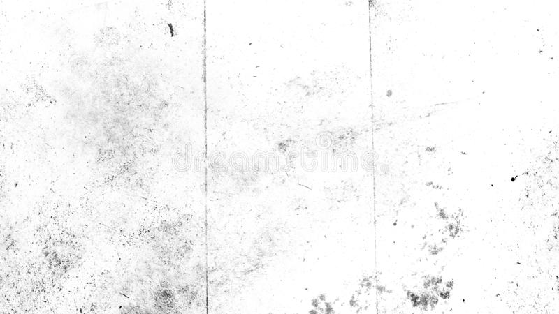 White vintage dust scratched background, distressed old texture overlays space for text. royalty free stock image