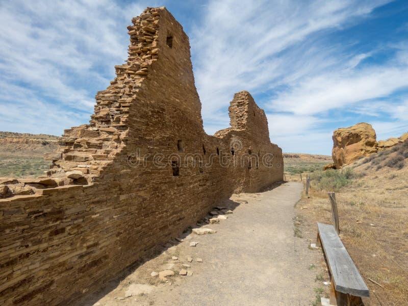 Overlevende Muur royalty-vrije stock afbeelding