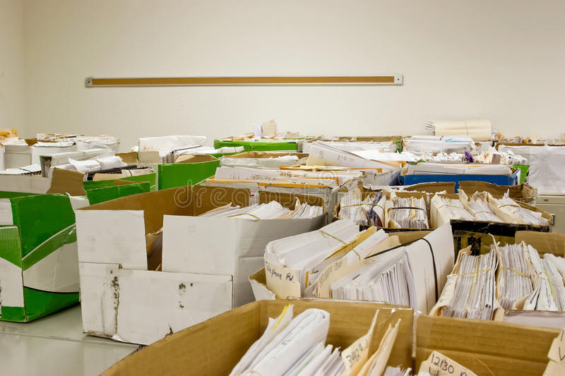 Download Overload On Files Royalty Free Stock Photo - Image: 20165885