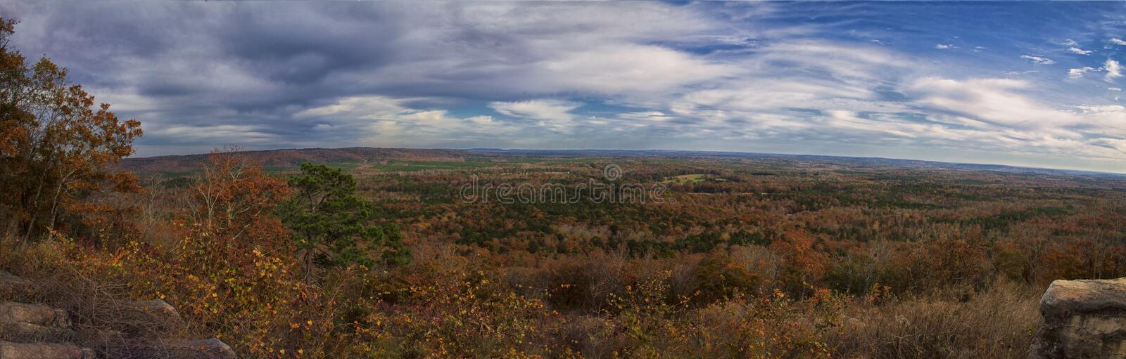The Overlook of Pine Mountain Valley royalty free stock images