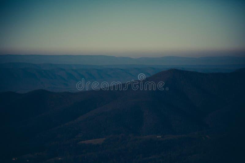 Mountain Overlook stock photo