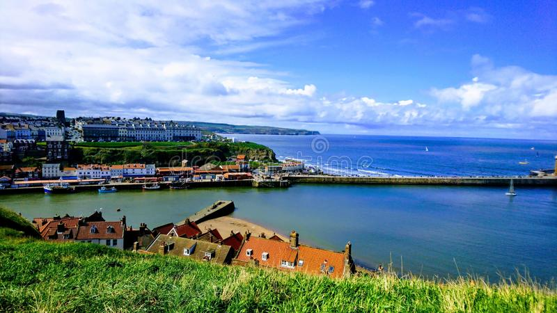 Overlooking The Harbour royalty free stock photography