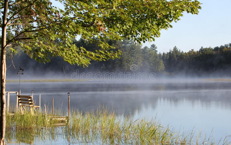 Download Overlooking The Morning Fog Stock Image - Image: 16785873