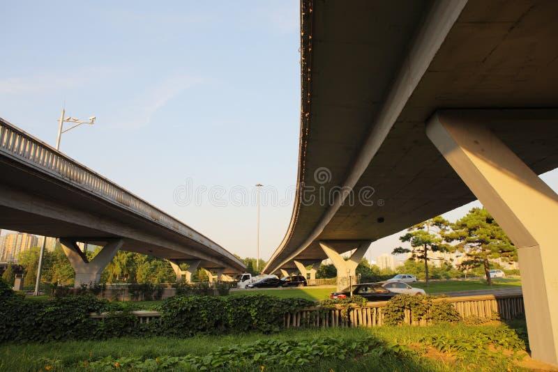 Download Overpass in beijing stock image. Image of transport, building - 21758819