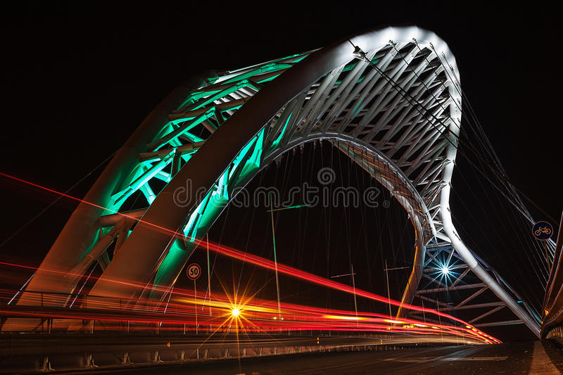 Download Overpass lit up at night stock photo. Image of pante - 35651636