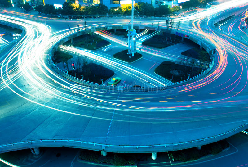 Download Overpass at night stock image. Image of night, crossroads - 22938193