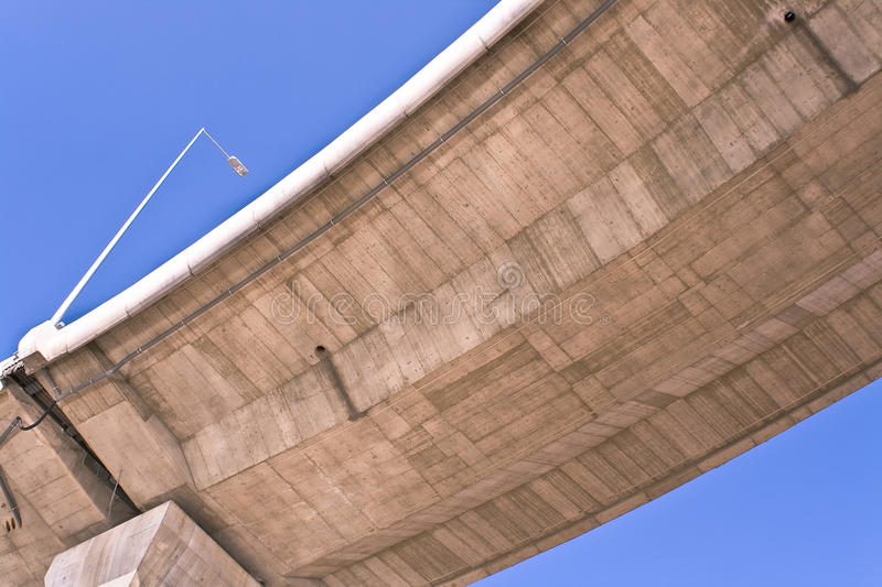 Overpass Over Blue Sky Stock Image