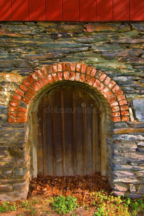 Overspannen Portaal stock fotografie