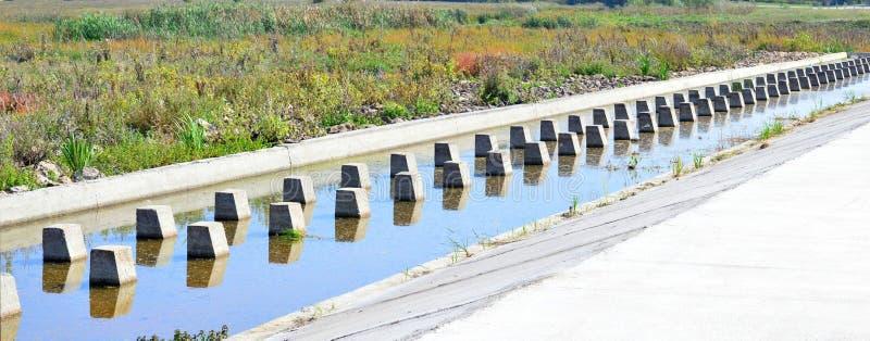 Overstroming stock fotografie