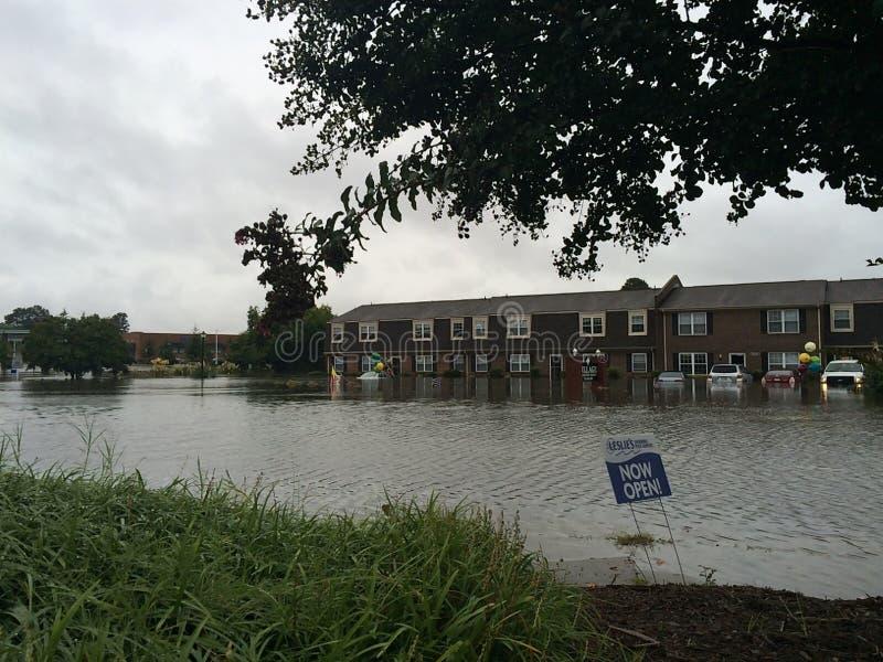 overstroming royalty-vrije stock afbeelding