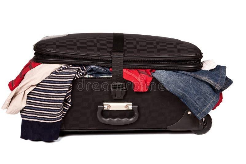 Download Overstuffed Baggage Isolated Stock Photo - Image: 7285930