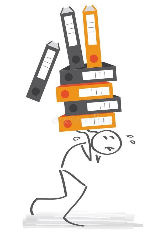 overtime illustration libre de droits