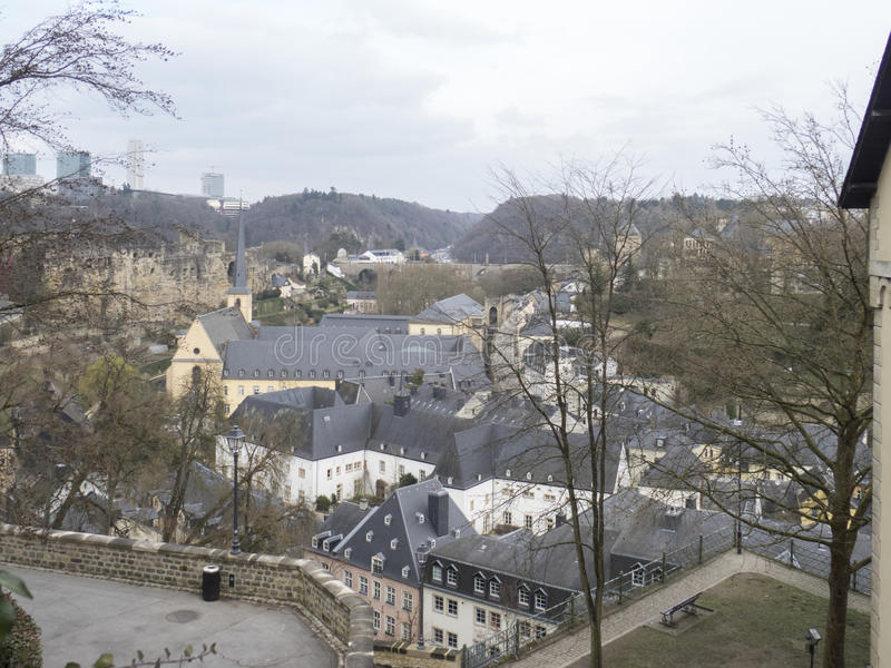 Overview of Luxembourg stock photography